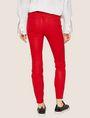 ARMANI EXCHANGE J14 COATED ZIP-UP MOTO JEGGING Skinny jeans Woman e