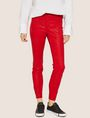 ARMANI EXCHANGE J14 COATED ZIP-UP MOTO JEGGING Skinny jeans Woman f