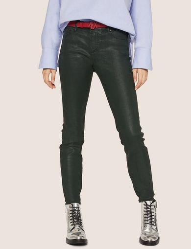 J01 SUPER-SKINNY COATED JEAN