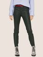 ARMANI EXCHANGE J01 SUPER-SKINNY COATED JEAN Skinny jeans Woman f