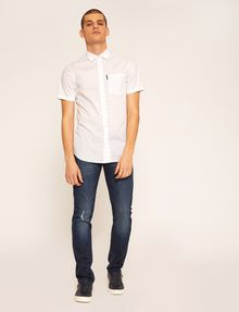 ARMANI EXCHANGE JEANS J13 SLIM FIT SCURI CON DETTAGLI SDRUCITI Jeans slim [*** pickupInStoreShippingNotGuaranteed_info ***] d