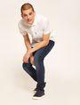 ARMANI EXCHANGE JEANS J13 SLIM FIT SCURI CON DETTAGLI SDRUCITI Jeans slim [*** pickupInStoreShippingNotGuaranteed_info ***] a