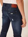 ARMANI EXCHANGE JEANS J13 SLIM FIT SCURI CON DETTAGLI SDRUCITI Jeans slim [*** pickupInStoreShippingNotGuaranteed_info ***] b