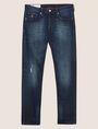 ARMANI EXCHANGE JEANS J13 SLIM FIT SCURI CON DETTAGLI SDRUCITI Jeans slim [*** pickupInStoreShippingNotGuaranteed_info ***] r