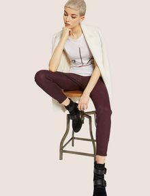 ARMANI EXCHANGE J14 COATED ZIP-UP MOTO JEGGING Skinny jeans [*** pickupInStoreShipping_info ***] a