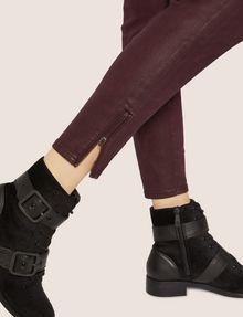 ARMANI EXCHANGE J14 COATED ZIP-UP MOTO JEGGING Skinny jeans [*** pickupInStoreShipping_info ***] b