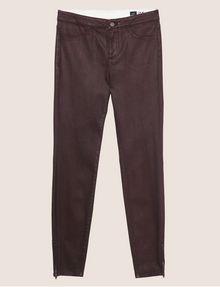 ARMANI EXCHANGE J14 COATED ZIP-UP MOTO JEGGING Skinny jeans [*** pickupInStoreShipping_info ***] r