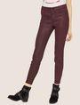 ARMANI EXCHANGE J14 COATED ZIP-UP MOTO JEGGING Skinny jeans [*** pickupInStoreShipping_info ***] f