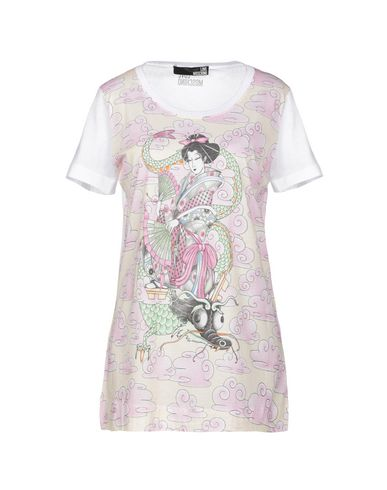 Фото - Женскую футболку  светло-розового цвета