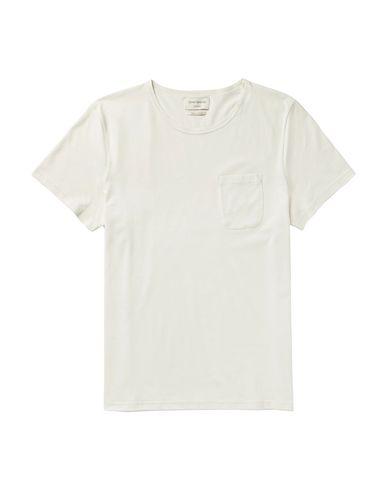 Купить Женскую футболку OLIVER SPENCER бежевого цвета