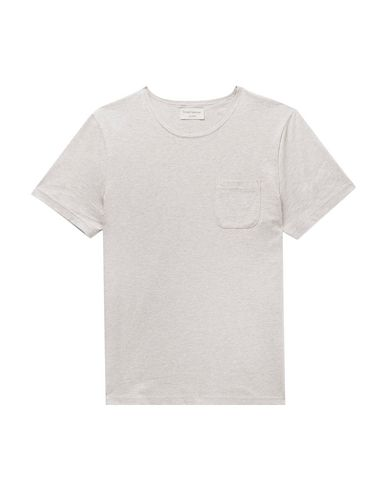 Фото - Женскую футболку OLIVER SPENCER светло-серого цвета