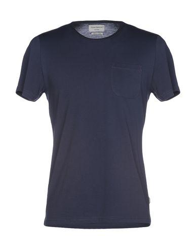 Фото - Женскую футболку OLIVER SPENCER темно-синего цвета