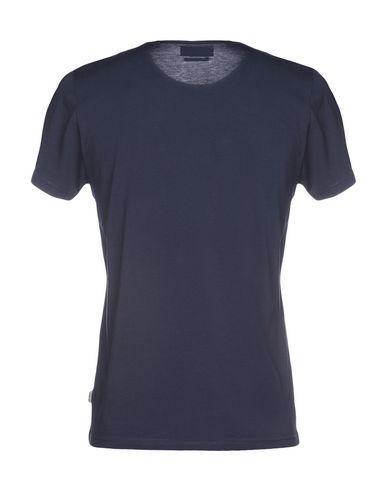 Фото 2 - Женскую футболку OLIVER SPENCER темно-синего цвета