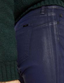 ARMANI EXCHANGE J69 SUPER-SKINNY COATED LIFT-UP JEAN Skinny jeans Woman b