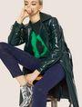 ARMANI EXCHANGE J69 SUPER-SKINNY COATED LIFT-UP JEAN Skinny jeans Woman a