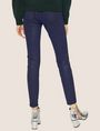 ARMANI EXCHANGE J69 SUPER-SKINNY COATED LIFT-UP JEAN Skinny jeans Woman e