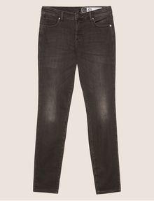 ARMANI EXCHANGE J01 SUPER-SKINNY WASHED DARK GREY JEAN Skinny jeans Woman r