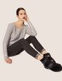ARMANI EXCHANGE J01 SUPER-SKINNY WASHED DARK GREY JEAN Skinny jeans Woman a