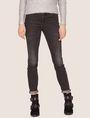 ARMANI EXCHANGE J01 SUPER-SKINNY WASHED DARK GREY JEAN Skinny jeans [*** pickupInStoreShipping_info ***] f