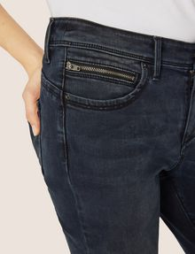 ARMANI EXCHANGE J05 SUPER-SKINNY DARK GREY CROPPED ZIP JEAN Skinny jeans [*** pickupInStoreShipping_info ***] b