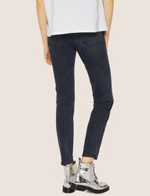 ARMANI EXCHANGE J05 SUPER-SKINNY DARK GREY CROPPED ZIP JEAN Skinny jeans [*** pickupInStoreShipping_info ***] e