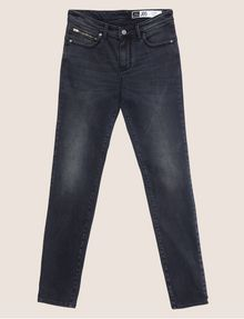 ARMANI EXCHANGE J05 SUPER-SKINNY DARK GREY CROPPED ZIP JEAN Skinny jeans [*** pickupInStoreShipping_info ***] r
