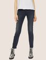 ARMANI EXCHANGE J05 SUPER-SKINNY DARK GREY CROPPED ZIP JEAN Skinny jeans [*** pickupInStoreShipping_info ***] f