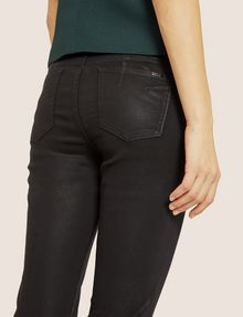 ARMANI EXCHANGE J69 SUPER-SKINNY COATED LIFT-UP JEAN Skinny jeans Woman b
