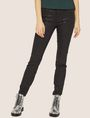 ARMANI EXCHANGE J69 SUPER-SKINNY COATED LIFT-UP JEAN Skinny jeans Woman f
