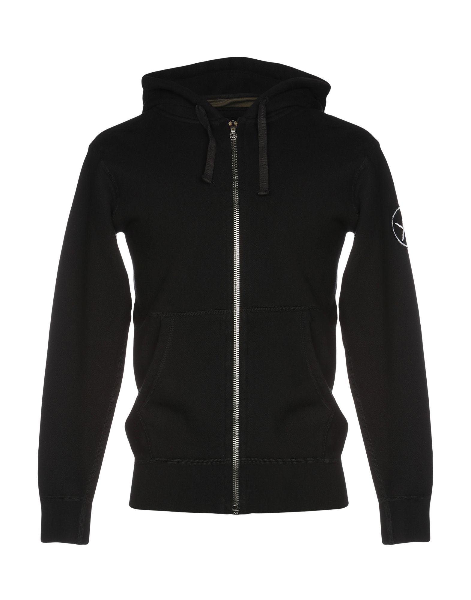 《送料無料》LOCAL AUTHORITY メンズ スウェットシャツ ブラック S コットン 100%