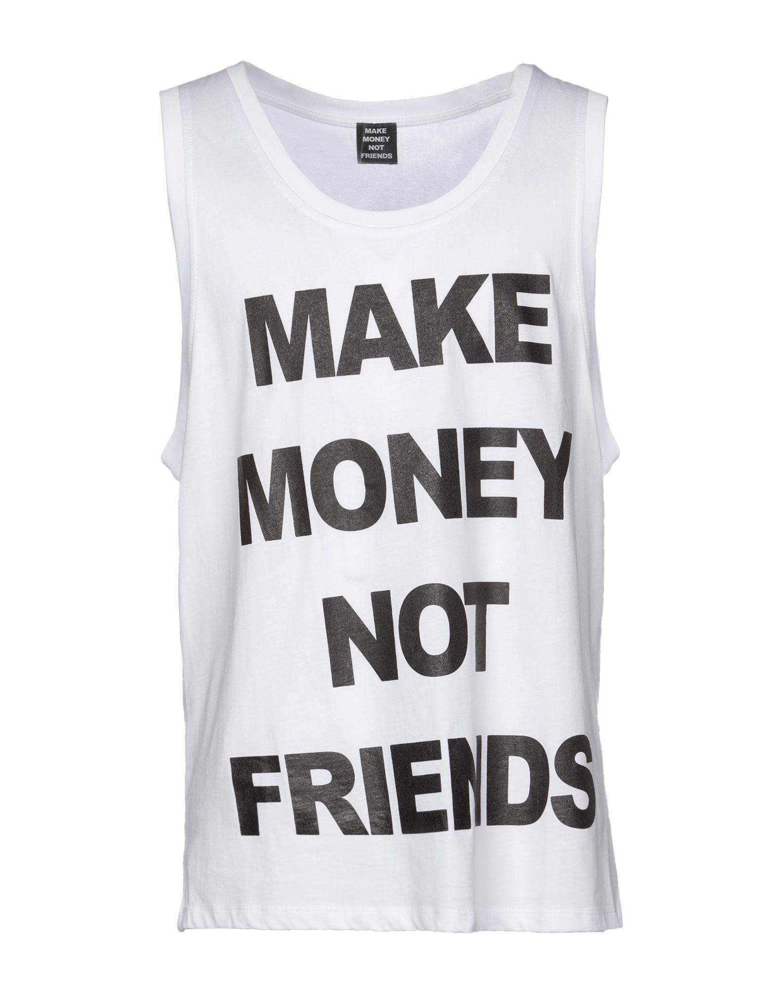 Фото - MAKE MONEY NOT FRIENDS Майка make money not friends бермуды