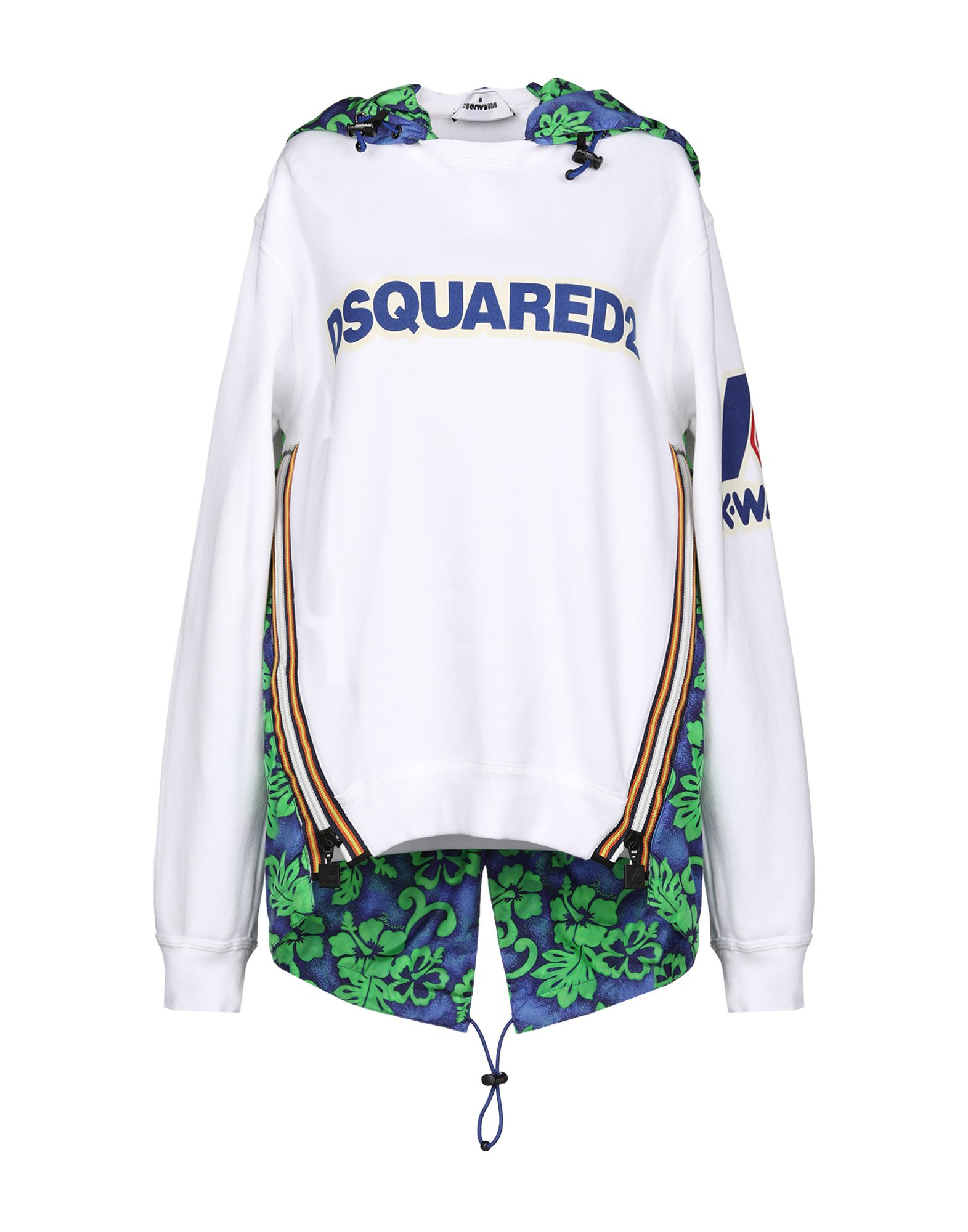 DSQUARED2 x K-WAY Толстовка dsquared2 x k way толстовка
