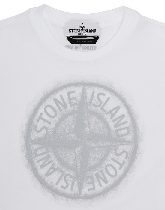 12231435mk - Polo - T-Shirts STONE ISLAND JUNIOR