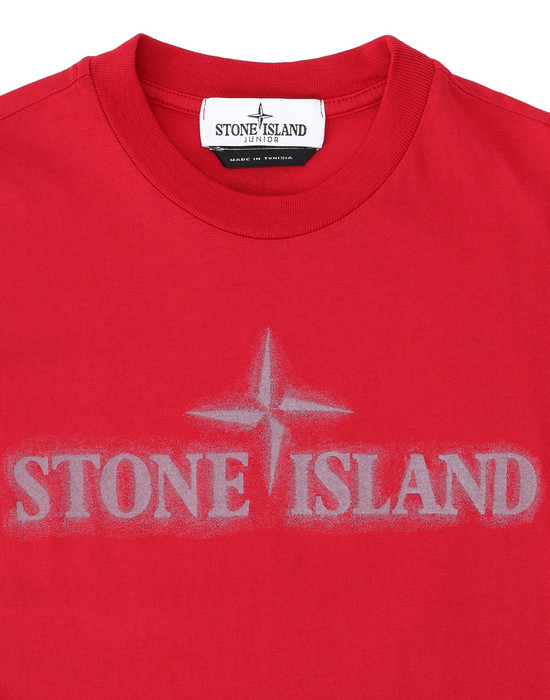 12231453hs - Polo - T-Shirts STONE ISLAND JUNIOR