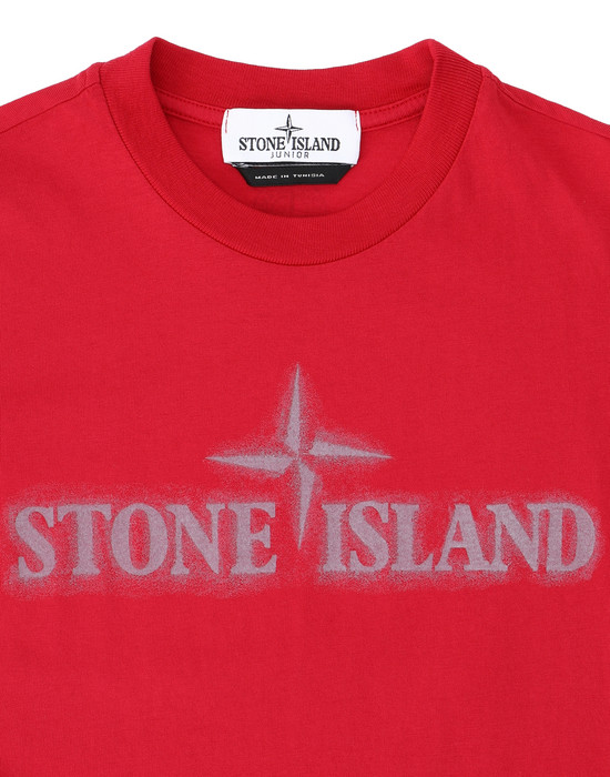 12231457lx - Polo - T-Shirts STONE ISLAND JUNIOR