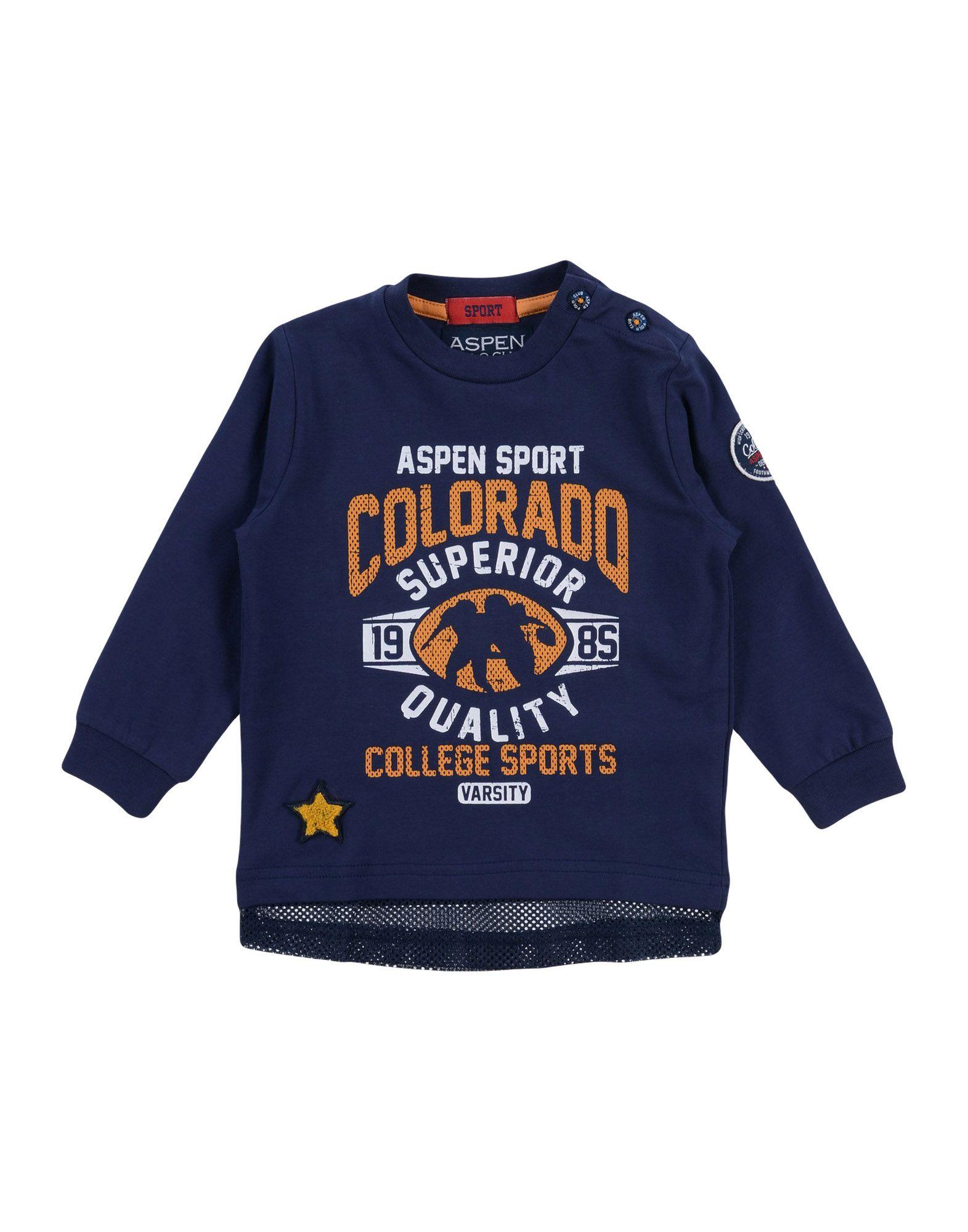 Aspen Polo Club Kids' T-shirts In Blue