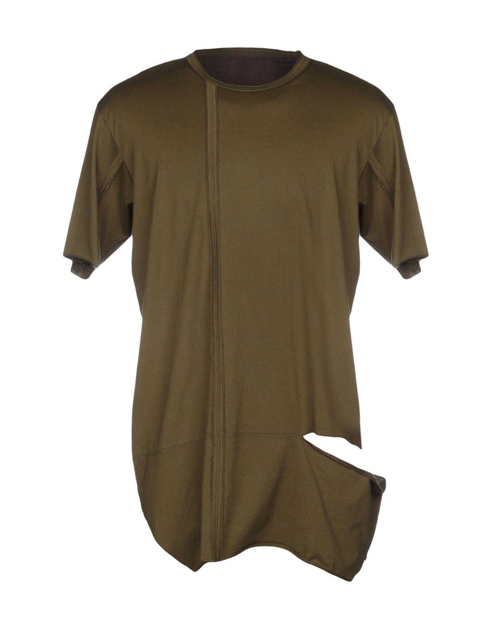 《送料無料》ZIGGY CHEN メンズ T シャツ ミリタリーグリーン 48 コットン 100%