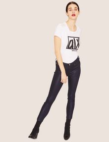 ARMANI EXCHANGE J05 SUPER-SKINNY HIGH-SHINE CROPPED JEAN Skinny jeans [*** pickupInStoreShipping_info ***] a