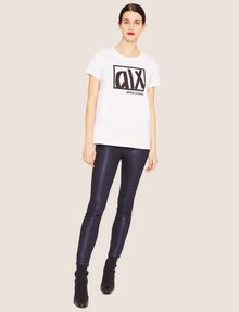 ARMANI EXCHANGE J05 SUPER-SKINNY HIGH-SHINE CROPPED JEAN Skinny jeans [*** pickupInStoreShipping_info ***] d