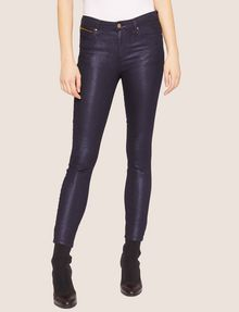 ARMANI EXCHANGE J05 SUPER-SKINNY HIGH-SHINE CROPPED JEAN Skinny jeans [*** pickupInStoreShipping_info ***] f