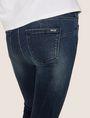 ARMANI EXCHANGE J69 SUPER-SKINNY RIPPED LIFT-UP DARK INDIGO JEAN Skinny jeans [*** pickupInStoreShipping_info ***] b