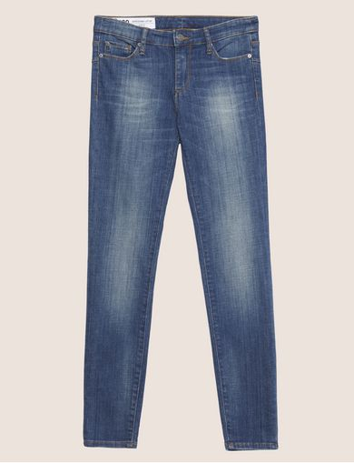 J69 SUPER-SKINNY LIFT-UP MID INDIGO JEAN
