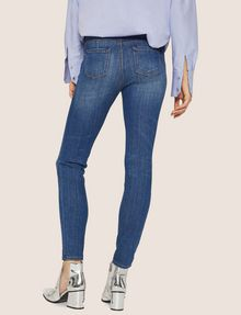 ARMANI EXCHANGE J69 SUPER-SKINNY LIFT-UP MID INDIGO JEAN Skinny jeans [*** pickupInStoreShipping_info ***] e