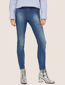 ARMANI EXCHANGE J69 SUPER-SKINNY LIFT-UP MID INDIGO JEAN Skinny jeans [*** pickupInStoreShipping_info ***] f