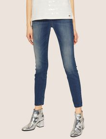 ARMANI EXCHANGE J05 SUPER-SKINNY POWER STRETCH CROPPED ZIP JEAN Skinny jeans [*** pickupInStoreShipping_info ***] f
