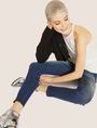 ARMANI EXCHANGE J05 SUPER-SKINNY POWER STRETCH CROPPED ZIP JEAN Skinny jeans [*** pickupInStoreShipping_info ***] a