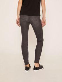 ARMANI EXCHANGE J10 SKINNY SIDE-STRIPE RIPPED JEAN Skinny jeans Woman e