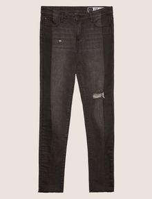 ARMANI EXCHANGE J10 SKINNY SIDE-STRIPE RIPPED JEAN Skinny jeans Woman r