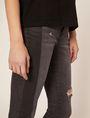 ARMANI EXCHANGE J10 SKINNY SIDE-STRIPE RIPPED JEAN Skinny jeans Woman b