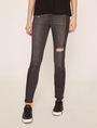 ARMANI EXCHANGE J10 SKINNY SIDE-STRIPE RIPPED JEAN Skinny jeans Woman f